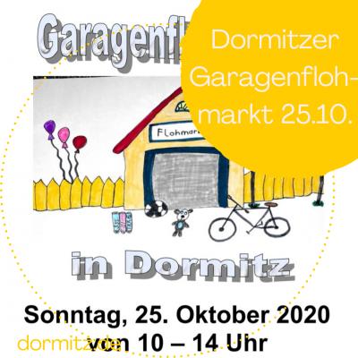 Vorschaubild zur Meldung: Dorf- Garagenflohmarkt in Dormitz