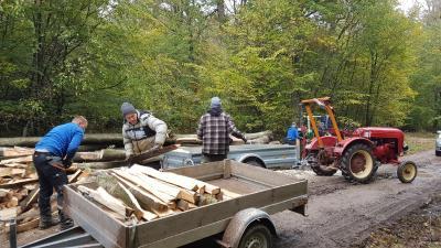 Vorschaubild zur Meldung: Holzaktion Köhlerfest