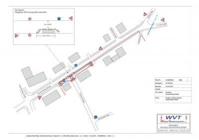 Vorschaubild zur Meldung: Sperrung Richard-König-Straße und Abzweigung Eckener Straße