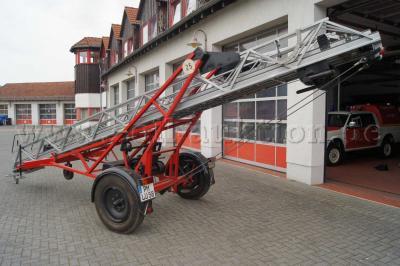 Foto zu Meldung: Auktion für Feuerwehrleiter