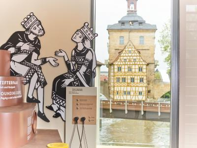 Ausstellung Welterbe-Zentrum - © Stadt Bamberg