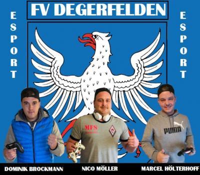 Vorschaubild zur Meldung: E-Sport-Team des FV Degerfelden gewinnt Südbadische eFootball Meisterschaft