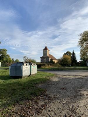 Foto zur Meldung: Altglascontainer in Damsdorf umgesetzt