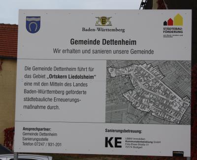 """Vorschaubild zur Meldung: Städtebauliche Erneuerungsmaßnahme """"Ortskern Liedolsheim"""""""