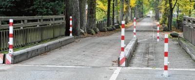 Vorschaubild zur Meldung: Hindernisse sorgen für langsameres Fahren