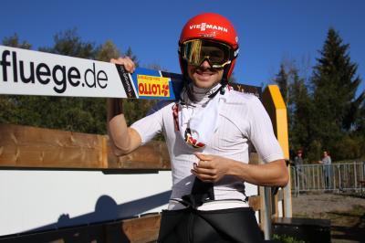 Fabian Rießle wurde in Oberstdorf Deutscher Meister - Bild: Joachim Hahne / johapress