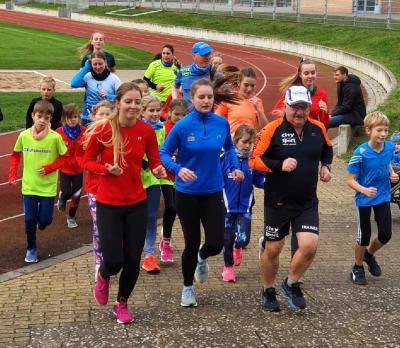 Foto zur Meldung: Laufcup-Abschluss-Lauf für über 140 Ausdauersportler in und durch Laage