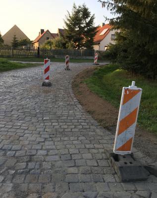 Straßenreparaturen in Klosterrode