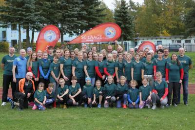 Foto zur Meldung: Neue Präsentationsshirts für Laager Laufcup-Läufer