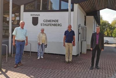 Bild der Meldung: Treffen der BI-Sprecher mit dem Bürgermeister von Staufenberg