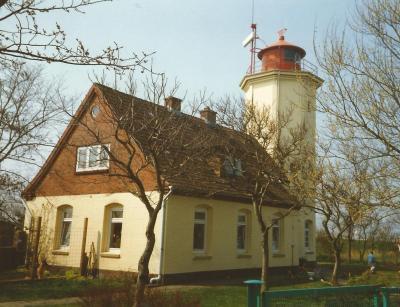 Vorschaubild zur Meldung: Bauarbeiten am Leuchtturm Westermarkelsdorf
