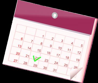 Bild der Meldung: Terminplan 2020-2021