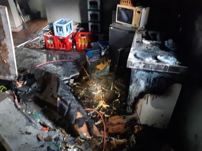 Vorschaubild zur Meldung: Zimmerbrand