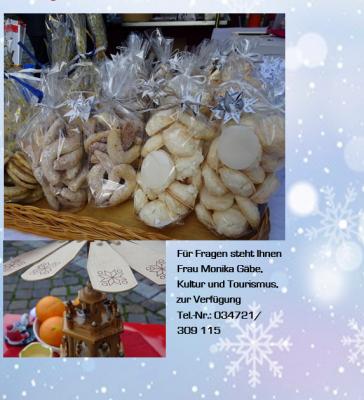 Foto zu Meldung: 7. Weihnachtliches Markttreiben der Einheitsgemeinde Nienburg (Saale)