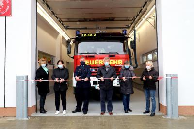 Foto zu Meldung: Rietzer Feuerwehr-Anbau wurde eingeweiht
