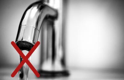 Foto zur Meldung: Kein Wasser derzeit in Eckartsborn!
