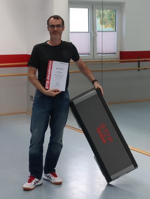 Vorschaubild zur Meldung: Tobias Hünger - neuer Trainer in der Step Aerobic