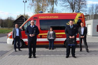Moderne Wärmebildkamera für die Feuerwehr Schweben  von der SV SparkassenVersicherung