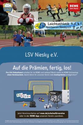 """Foto zur Meldung: REWE-Vereinsaktion: """"Scheine für Vereine"""" geht in den Endspurt"""