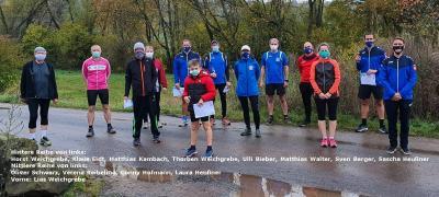 Foto zur Meldung: 12 Starter/innen bei der 1. Vereinsmeisterschaft der Lauftreff-Abteilung