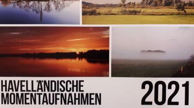 """Foto zur Meldung: Kalender """"Havelland 2021"""" und """"Havelländische Momentaufnahmen 2021"""""""