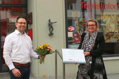 Bild der Meldung: Kunst Raum (K) Calau hat unsere Stadt bereichert