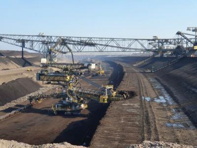 Foto zur Meldung: Wandertag Klasse 5 zum Tagebau Welzow Süd