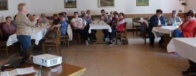 Frühstück und Vortrag der Landfrauen