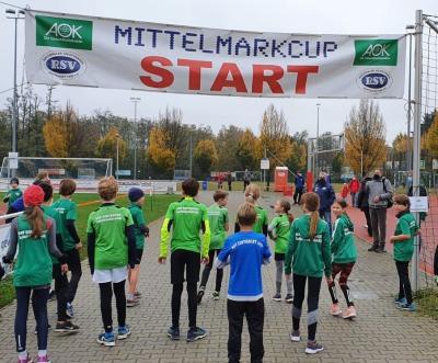Der Abschlusslauf des AOK Mittelmarkcups in Stahnsdorf