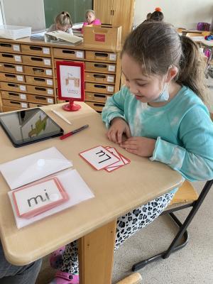 Vorschaubild zur Meldung: Neues aus dem Deutschunterricht der 1a