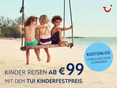 Bild der Meldung: NEU: Familienaktion - Kinder reisen ab 99,-€!