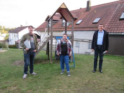 Von links nach rechts: Vorsitzender: Matthias Steinberger, Lisa Dittrich, Ivan Jagnjic. Foto: R. Lindner