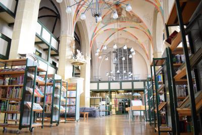 Stadtbibliothek Jüterbog im Mönchenkloster