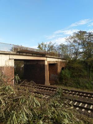 """Sanierung """"Doktorbrücke"""" in Brieskow-Finkenheerd"""