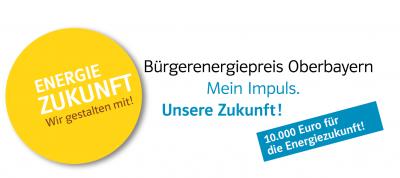 Vorschaubild zur Meldung: Bürgerenergiepreis Oberbayern - 10.000 € für die Energiezukunft - Bewerben Sie sich jetzt!