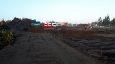Foto zur Meldung: KITA – Bau im Quartier REWE