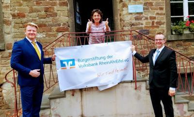 Foto zur Meldung: Spende der Bürgerstiftung der Volksbank RheinAhrEifel eG