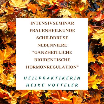 Intensivseminar Hormonregulation