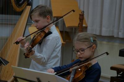 Luina und Julius Bund, Violinenduo, Jugend musiziert 2020