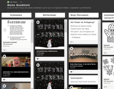 Bild der Meldung: Neue Musik- und Liederkiste für euch!