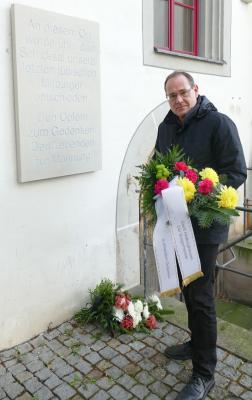 Vorschaubild zur Meldung: Gedenken an die Opfer des Holocaust