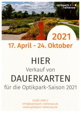 Foto zur Meldung: Dauerkartenverkauf für die Optikpark-Saison 2021 gestartet