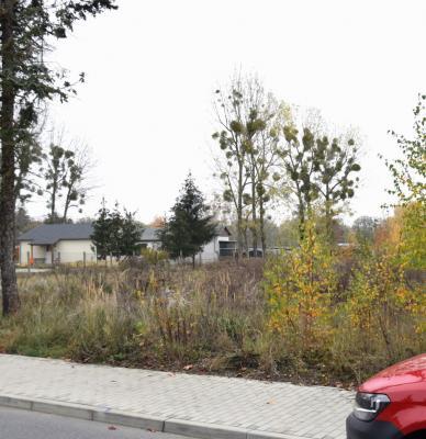 Aus dieser Brachfläche nahe am Sportplatz soll Bauland werden