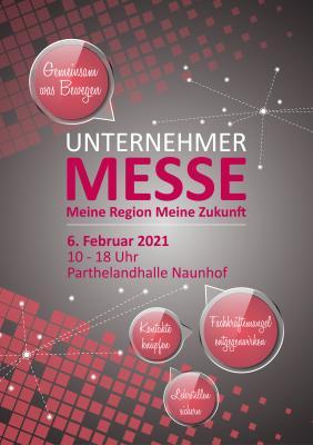 Flyer zur Unternehmermesse - Meine Region, meine Zukunft