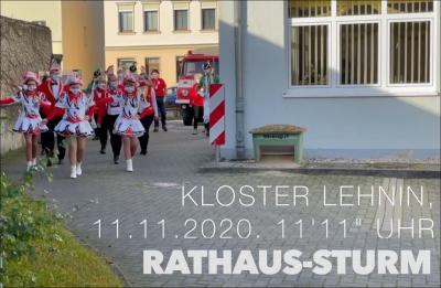 11.11.2020 Rathaussturm mal anders!