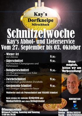 Schnitzelwoche 27.09. - 03.10.