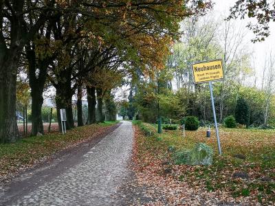 Die Ortsdurchfahrt Neuhausen wird ab 16. November gesperrt. Foto: Beate Vogel