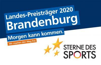 """Vorschaubild der Meldung: Eintracht Peitz gewinnt """"Sterne des Sports"""" in Silber"""