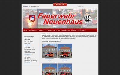 Neues Design und neue Technik für die Webseite