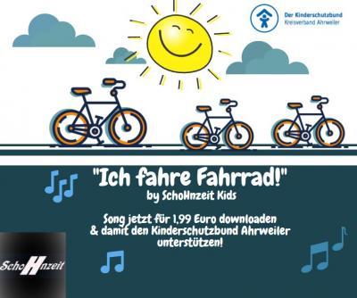 """Foto zur Meldung: Ohrwurm-Gefahr - SchoHnzeit Kids Song """"Ich fahre Fahrrad"""""""